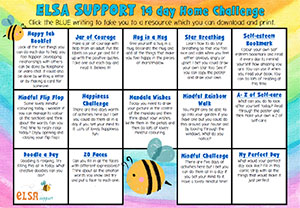 14 days of Home Wellbeing Challenges from ELSA